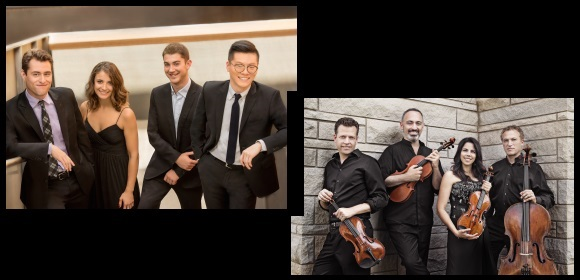 Dover & Pacifica Quartets – Feb. 2, 2019